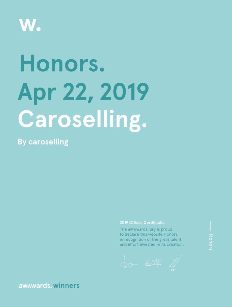 premi sito web caroselling | studio creativo caroselling | design e comunicazione mantova verona brescia