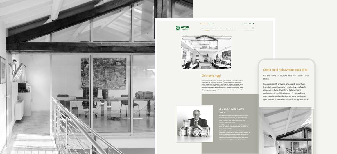 corporate arpa speciali s.r.l. mantova | sito web caroselling digital studio